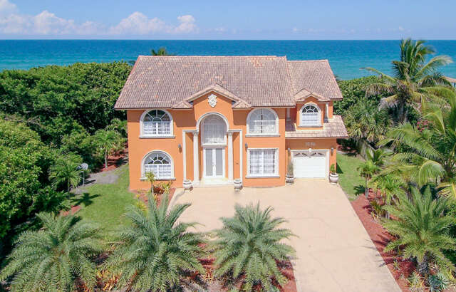 Single Family for Sale at 7095 S Highway A1a Melbourne Beach, Florida 32951 United States