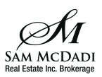 Sam McDadi Real Estate Inc. Brokerage