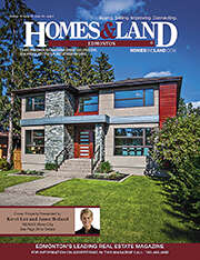 HOMES & LAND Magazine Cover. Vol. 15, Issue 11, Page 12.