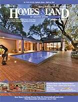 HOMES & LAND Magazine Cover. Vol. 14, Issue 12, Page 5.