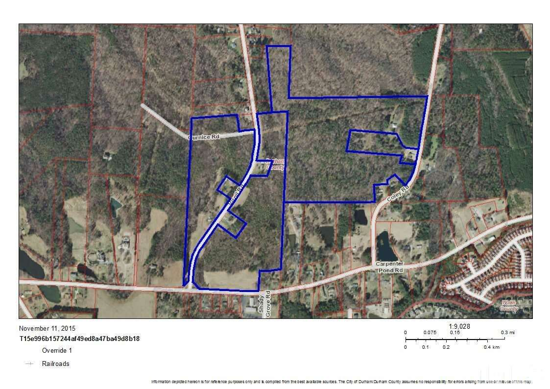 Land for Sale at 3522 Coley Road Durham, North Carolina 27703 United States