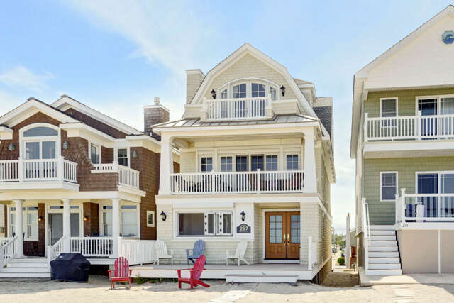 Single Family for Sale at 297 Beach Front Manasquan, New Jersey 08736 United States