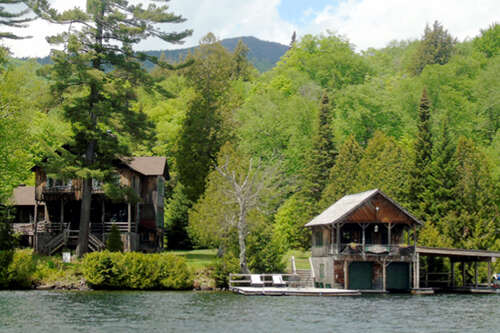 Single Family for Sale at 12 George And Bliss Lane, West Shore Lake Placid, New York 12946 United States