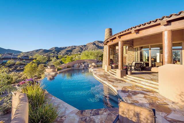 Single Family for Sale at 11105 E Tamarisk Way Scottsdale, Arizona 85262 United States