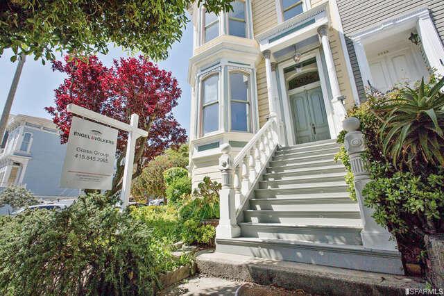 Single Family for Sale at 2094 Bush Street San Francisco, California 94115 United States