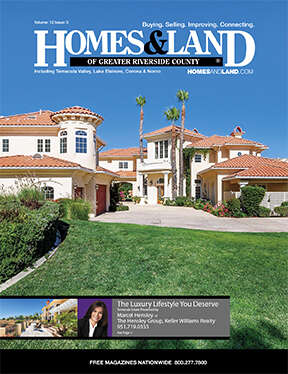 HOMES & LAND Magazine Cover. Vol. 12, Issue 03, Page 4.
