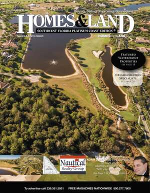HOMES & LAND Magazine Cover. Vol. 36, Issue 12, Page 7.