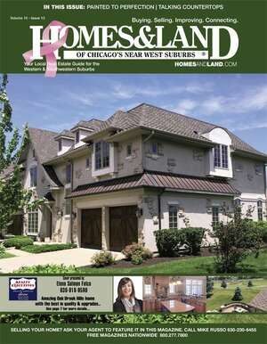HOMES & LAND Magazine Cover. Vol. 10, Issue 13, Page 7.