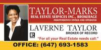 Taylor-Marks Real Estate Services Inc., Brokerage
