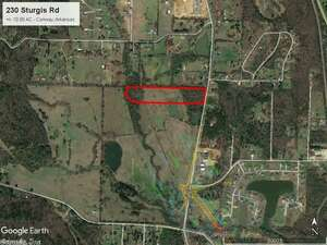 Land for Sale, ListingId:48191441, location: 230 Sturgis Road Conway 72034