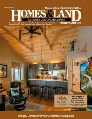 HOMES & LAND Magazine Cover. Vol. 26, Issue 03, Page 6.