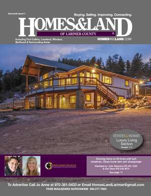HOMES & LAND Magazine Cover. Vol. 34, Issue 11, Page 11.