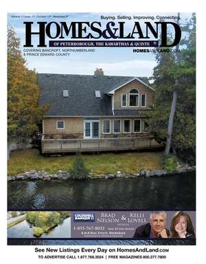 HOMES & LAND Magazine Cover. Vol. 11, Issue 13, Page 23.