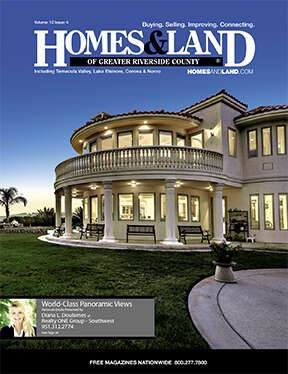HOMES & LAND Magazine Cover. Vol. 12, Issue 04, Page 36.