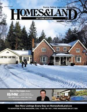 HOMES & LAND Magazine Cover. Vol. 10, Issue 06, Page 8.