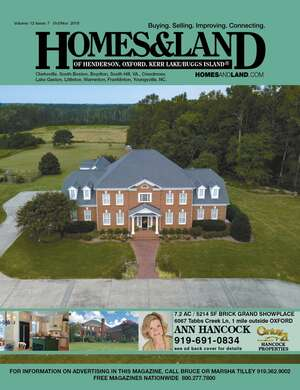 HOMES & LAND Magazine Cover. Vol. 12, Issue 07, Page 20.