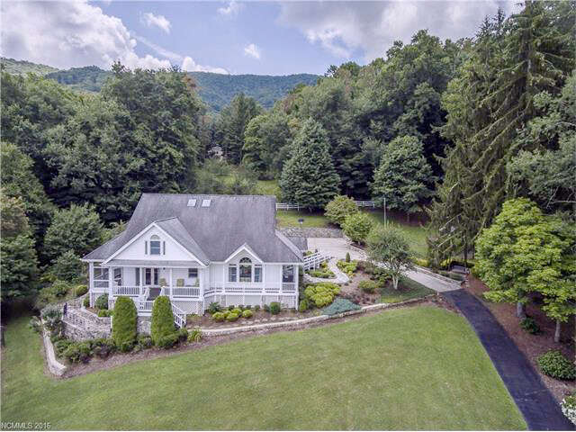 Single Family for Sale at 1180 Saunook Road Waynesville, North Carolina 28786 United States
