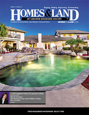 HOMES & LAND Magazine Cover. Vol. 11, Issue 10, Page 3.