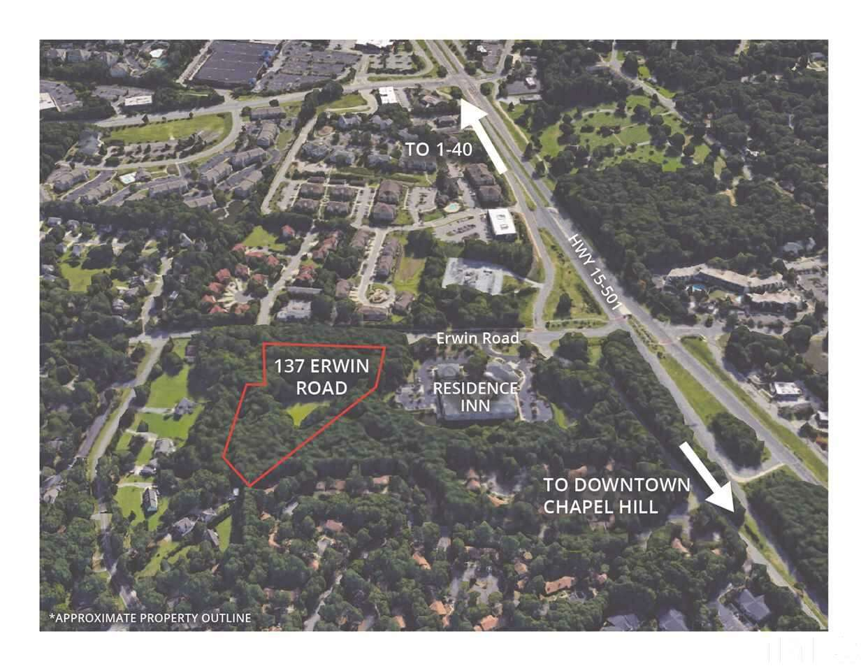Land for Sale at 137 Erwin Road Chapel Hill, North Carolina 27514 United States