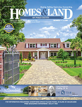 HOMES & LAND Magazine Cover. Vol. 40, Issue 03, Page 46.