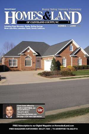 HOMES & LAND Magazine Cover. Vol. 29, Issue 09, Page 12.