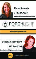 Karen Shumate Deneka Scott, Houston Real Estate, License #: 0627688