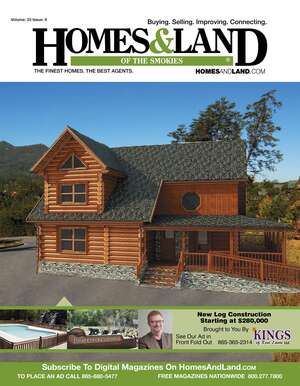 HOMES & LAND Magazine Cover. Vol. 33, Issue 09, Page OOC.