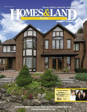 HOMES & LAND Magazine Cover. Vol. 16, Issue 08, Page 9.