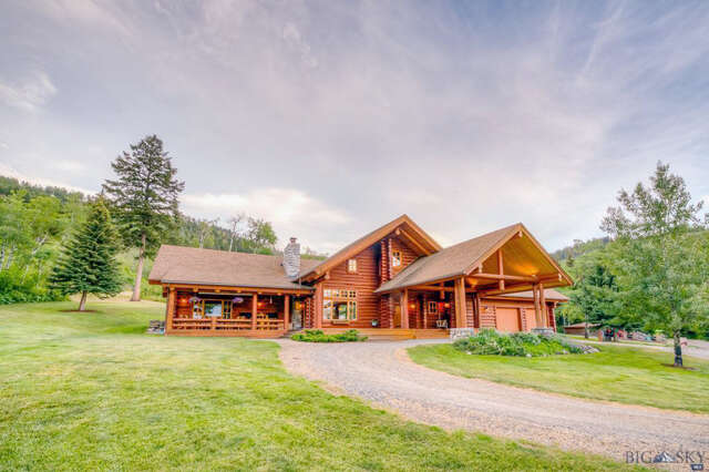 Single Family for Sale at 17418 Wilson Creek Gallatin Gateway, Montana 59730 United States