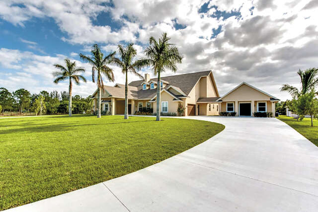 Single Family for Sale at 3890 Cabbage Palm Way Loxahatchee, Florida 33470 United States