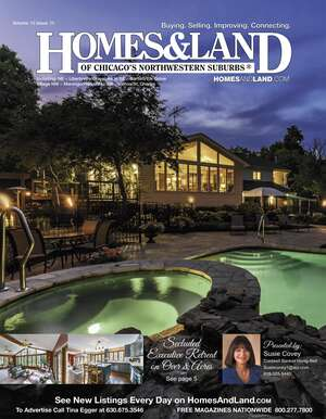 HOMES & LAND Magazine Cover. Vol. 12, Issue 11, Page 5.