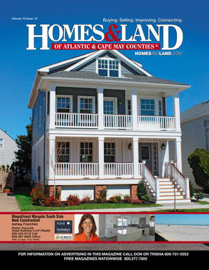 HOMES & LAND Magazine Cover. Vol. 10, Issue 10, Page 14.