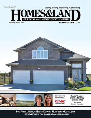 HOMES & LAND Magazine Cover. Vol. 05, Issue 07, Page 35.