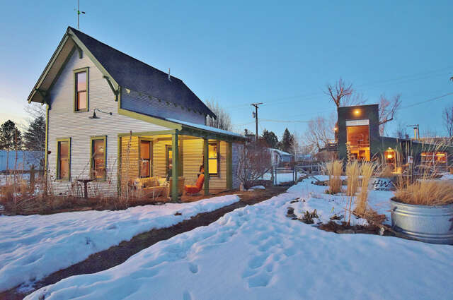 Single Family for Sale at 211/215 Mill Gallatin Gateway, Montana 59730 United States