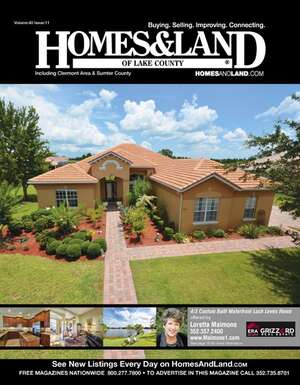 HOMES & LAND Magazine Cover. Vol. 40, Issue 11, Page 16.