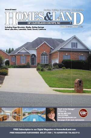 HOMES & LAND Magazine Cover. Vol. 29, Issue 02, Page 25.