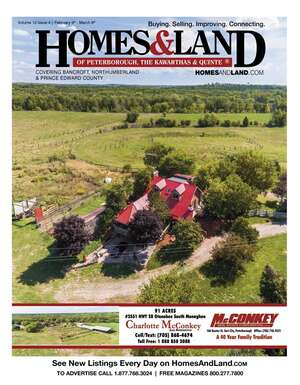 HOMES & LAND Magazine Cover. Vol. 12, Issue 04, Page 11.