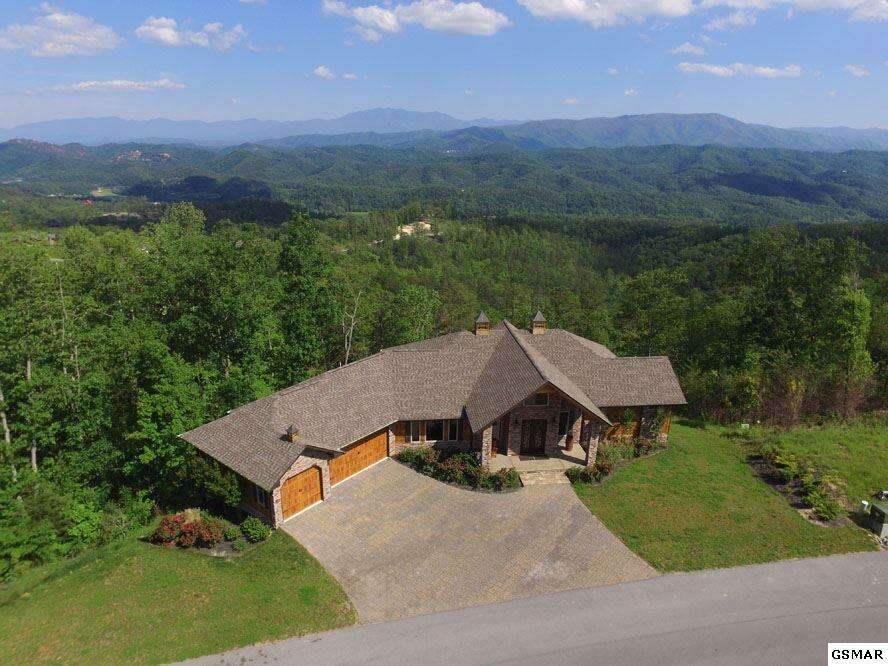 Single Family for Sale at 2941 Smoky Bluff Trail Sevierville, Tennessee 37862 United States