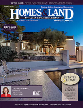 HOMES & LAND Magazine Cover. Vol. 19, Issue 12, Page 3.