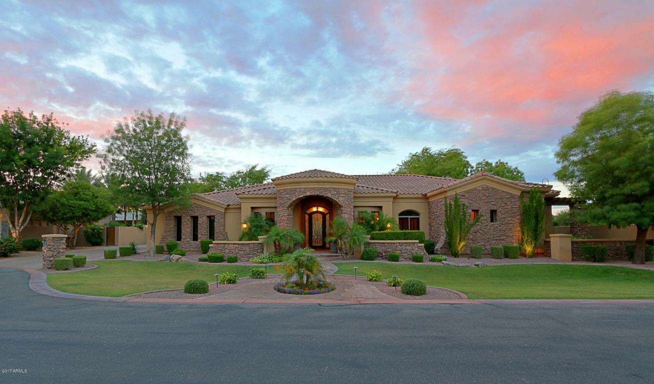 Single Family for Sale at 2762 W Monterey Place Chandler, Arizona 85224 United States