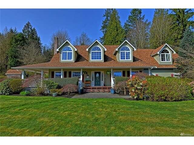 Single Family for Sale at 10310 Elliott Rd Snohomish, Washington 98296 United States