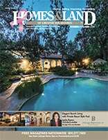 HOMES & LAND Magazine Cover. Vol. 14, Issue 12, Page 1.
