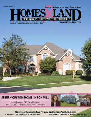 HOMES & LAND Magazine Cover. Vol. 12, Issue 07, Page 6.