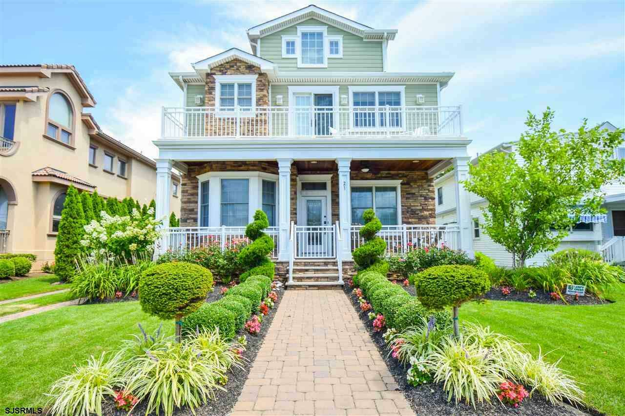 Single Family for Sale at 21 S Cedar Grove Ave Margate, New Jersey 08402 United States