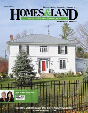 HOMES & LAND Magazine Cover. Vol. 11, Issue 05, Page 21.