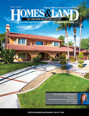 HOMES & LAND Magazine Cover. Vol. 12, Issue 08, Page 4.