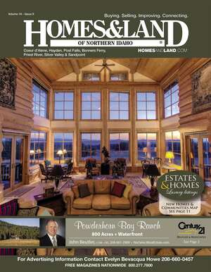 HOMES & LAND Magazine Cover. Vol. 16, Issue 09, Page 2.