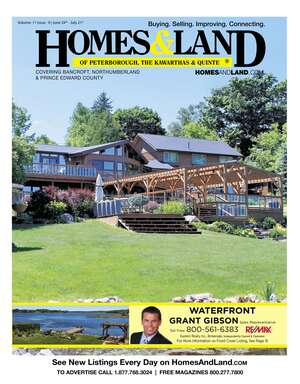 HOMES & LAND Magazine Cover. Vol. 11, Issue 09, Page 15.