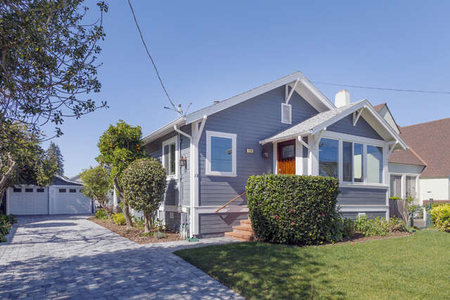 Single Family for Sale at 13 Humboldt Rd Burlingame, California 94010 United States