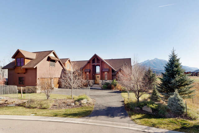 Single Family for Sale at 178 Sopris Mesa Drive Carbondale, Colorado 81623 United States